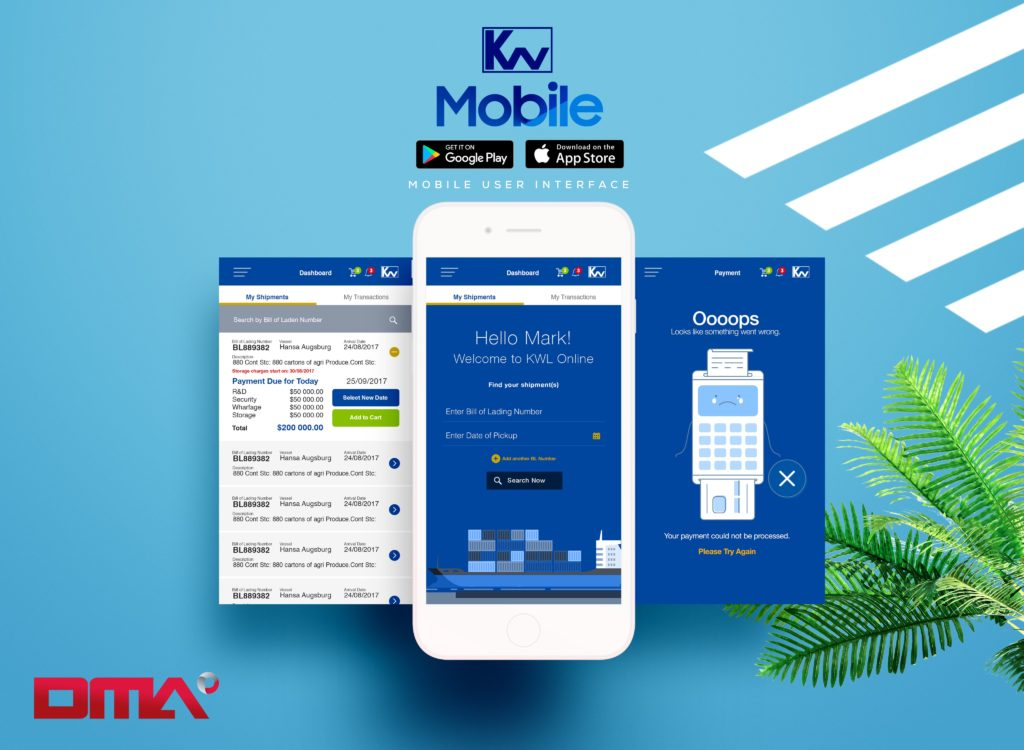 Kingston Wharves Mobile App