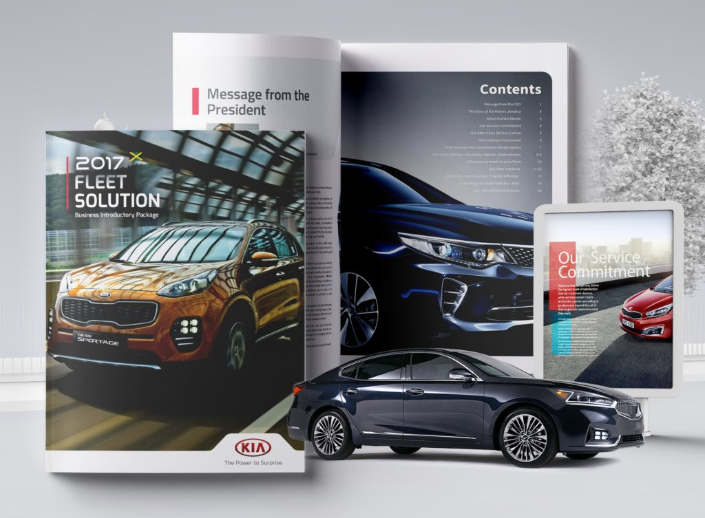 KIA Fleet Brochure