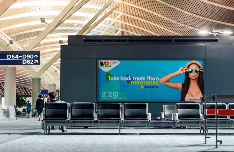 MBJ Airport Retail Adverts